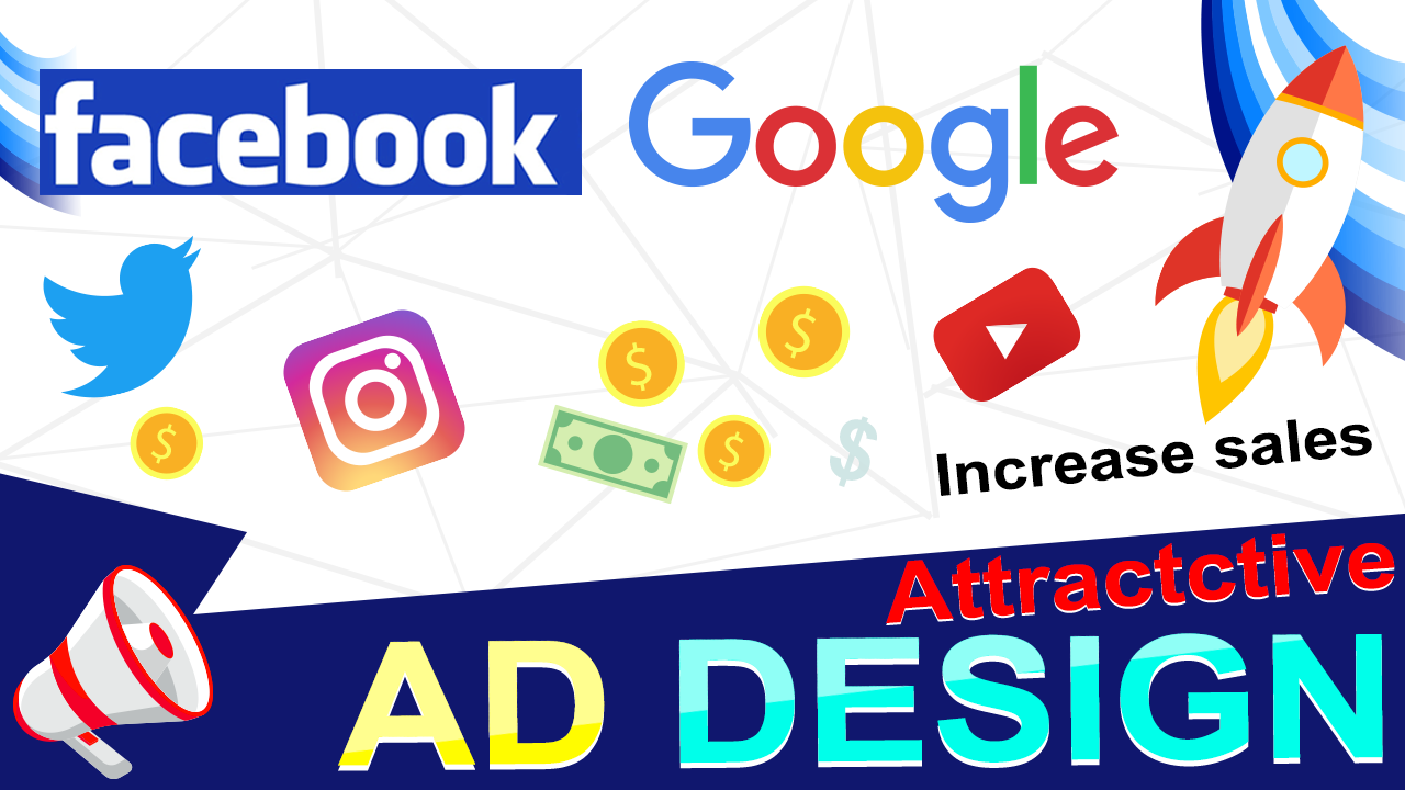 Design Facebook Or Google Ad And Banners