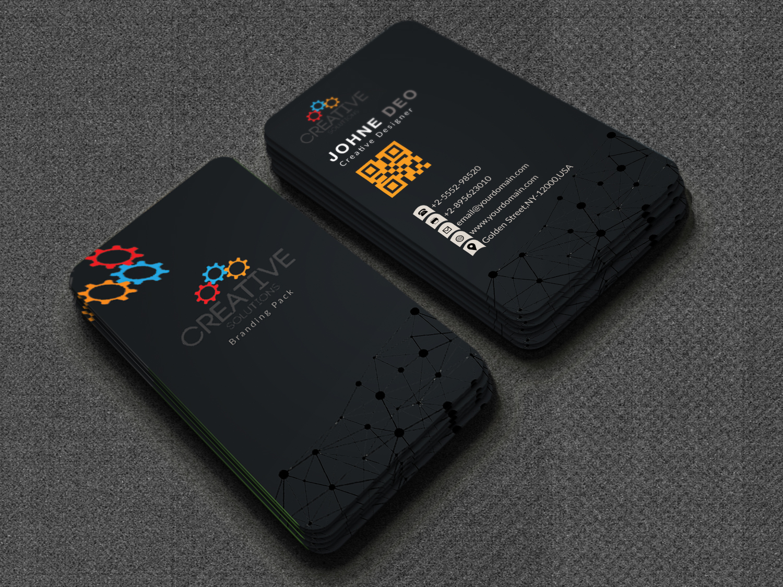 Modern business card design for 5 pixelclerks modern business card design reheart Choice Image