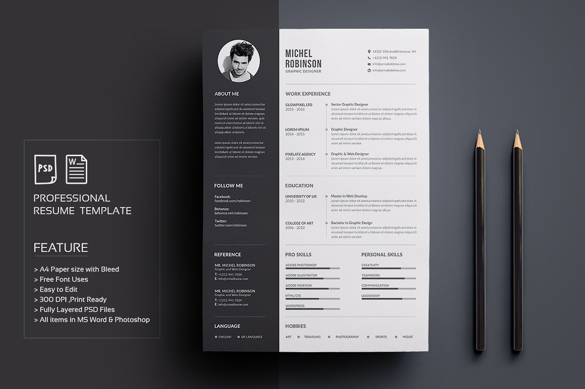Design Professional Resume For You 20