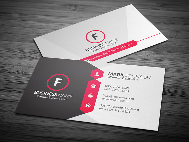 Design your professional business card for 10 pixelclerks design your professional business card flashek Images