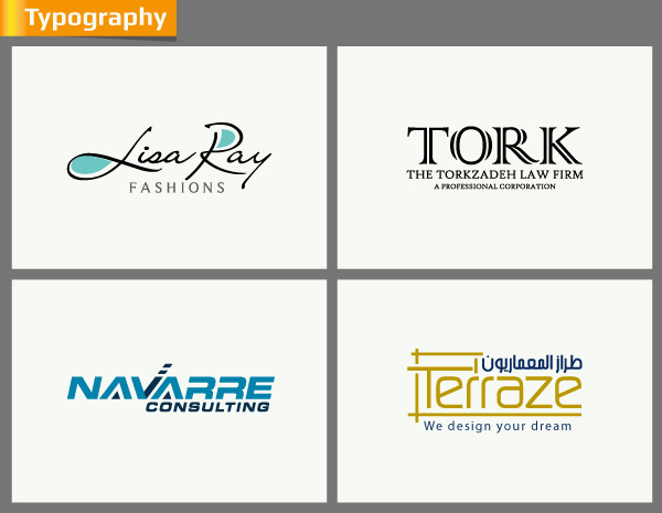 design an typography Logo