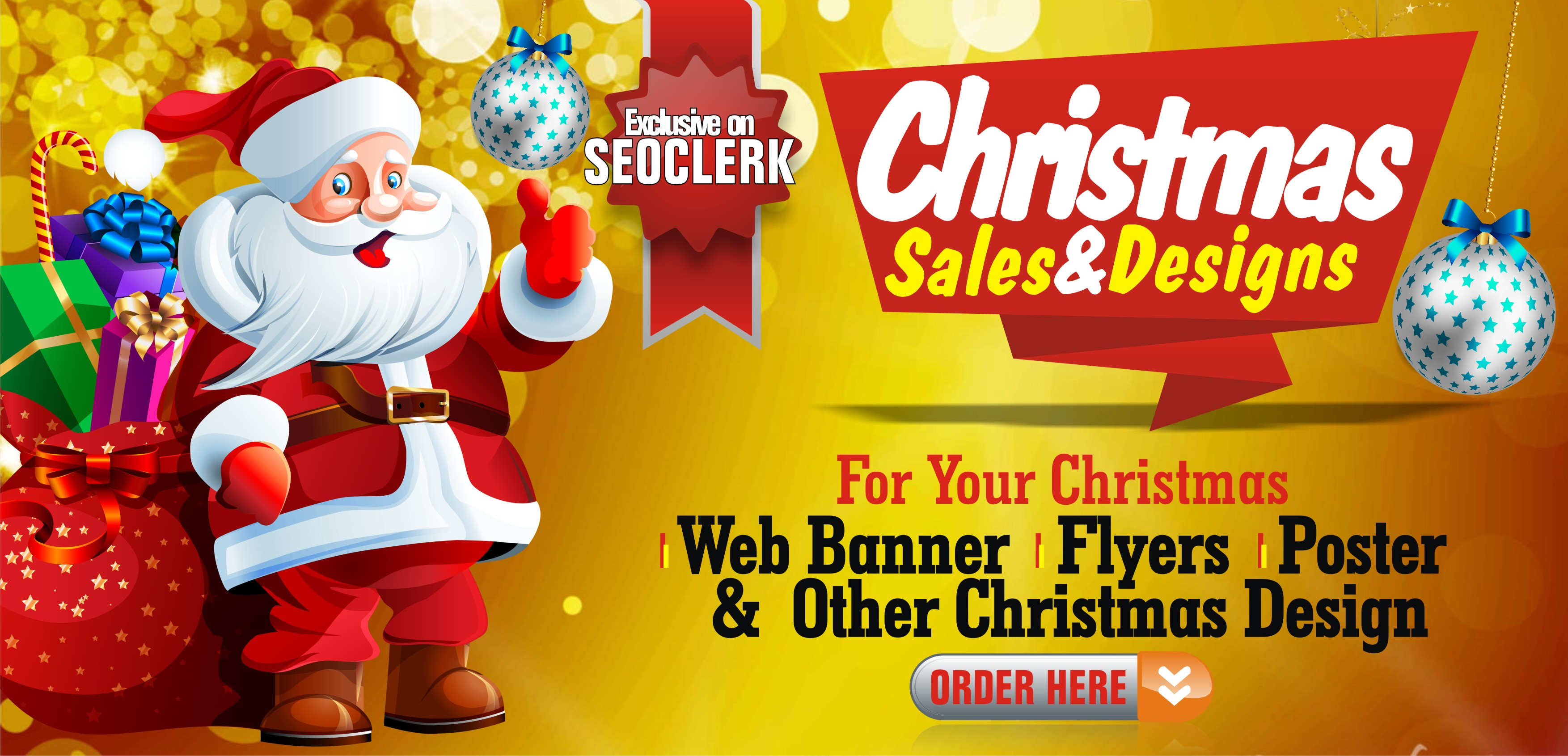 Professional Christmas design and sales