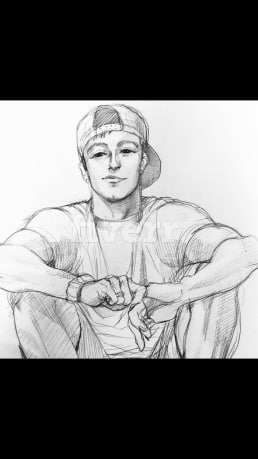 I am here to make sketch of your desired pic,fast sketch making services,sketch arting