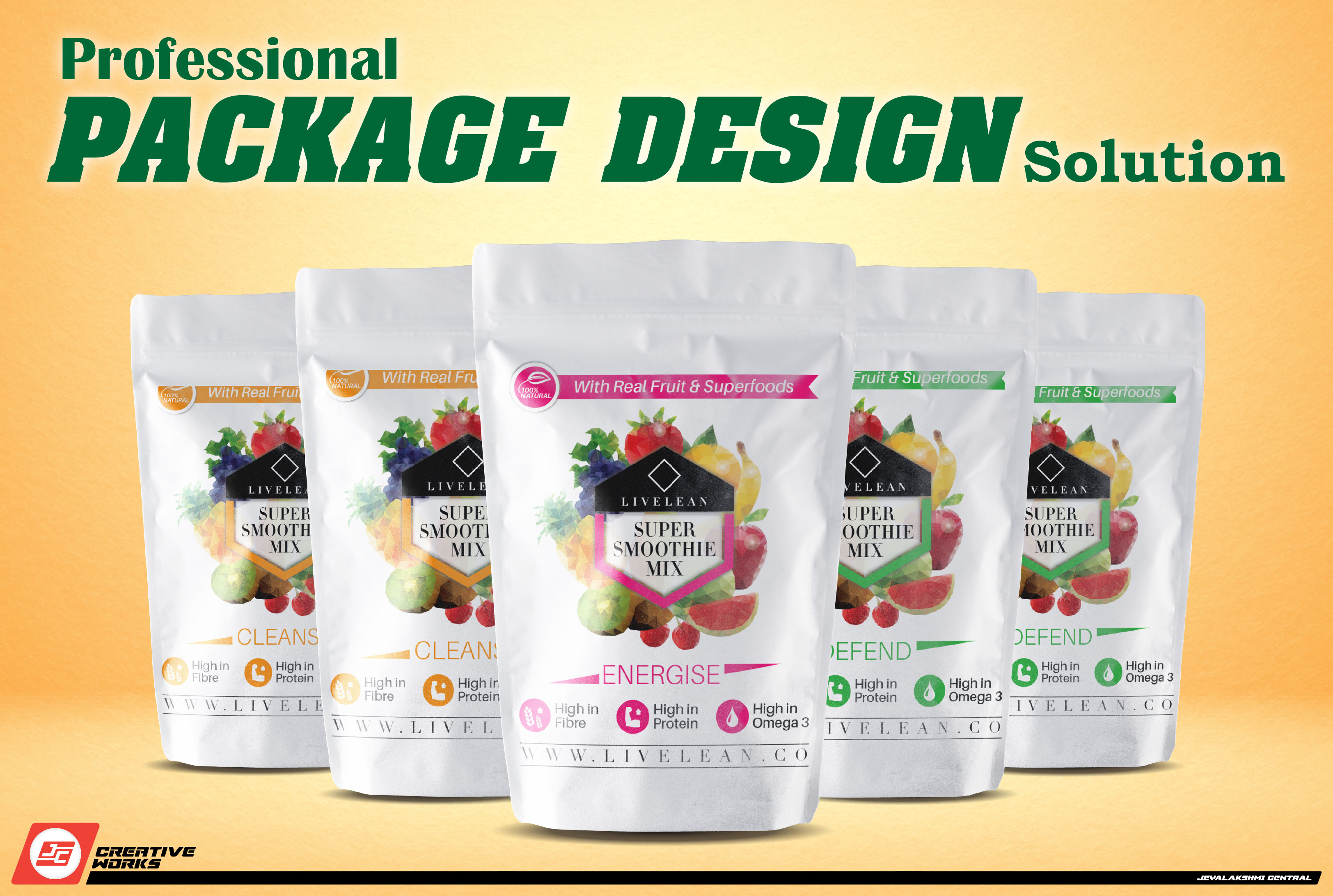 Professioanl Package Design for your Products