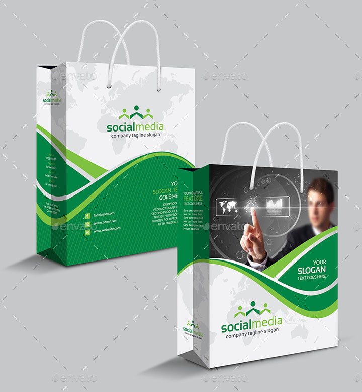 Design Modern Shopping Bag For You