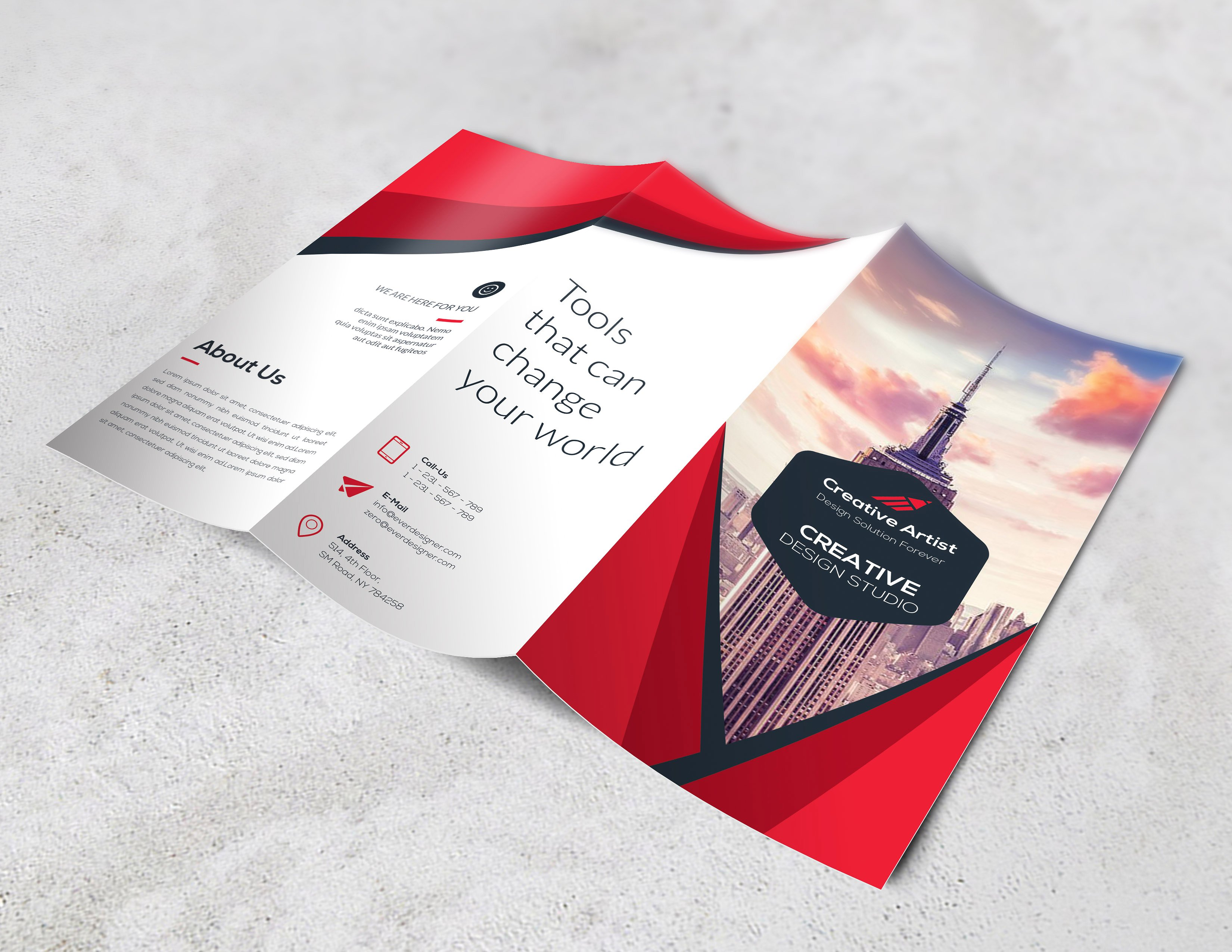 Design Professional Brochure For Your Company