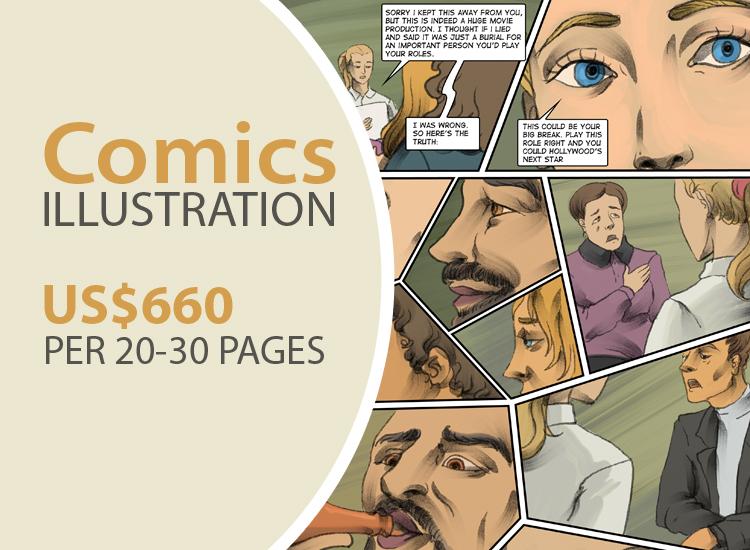 Comic Drawing & Illustration