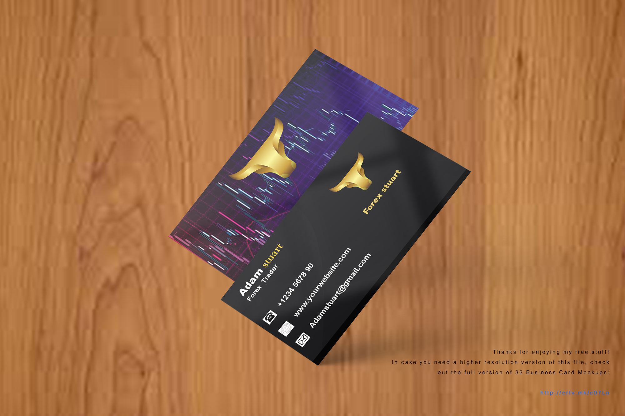 Professional a business card with high quality for $4 - PixelClerks
