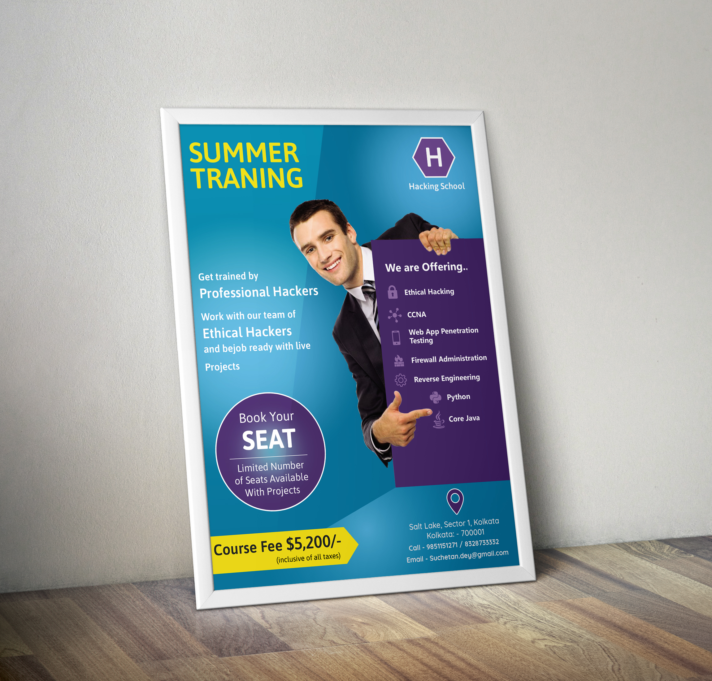 I can design professional Poster as per your requirement in