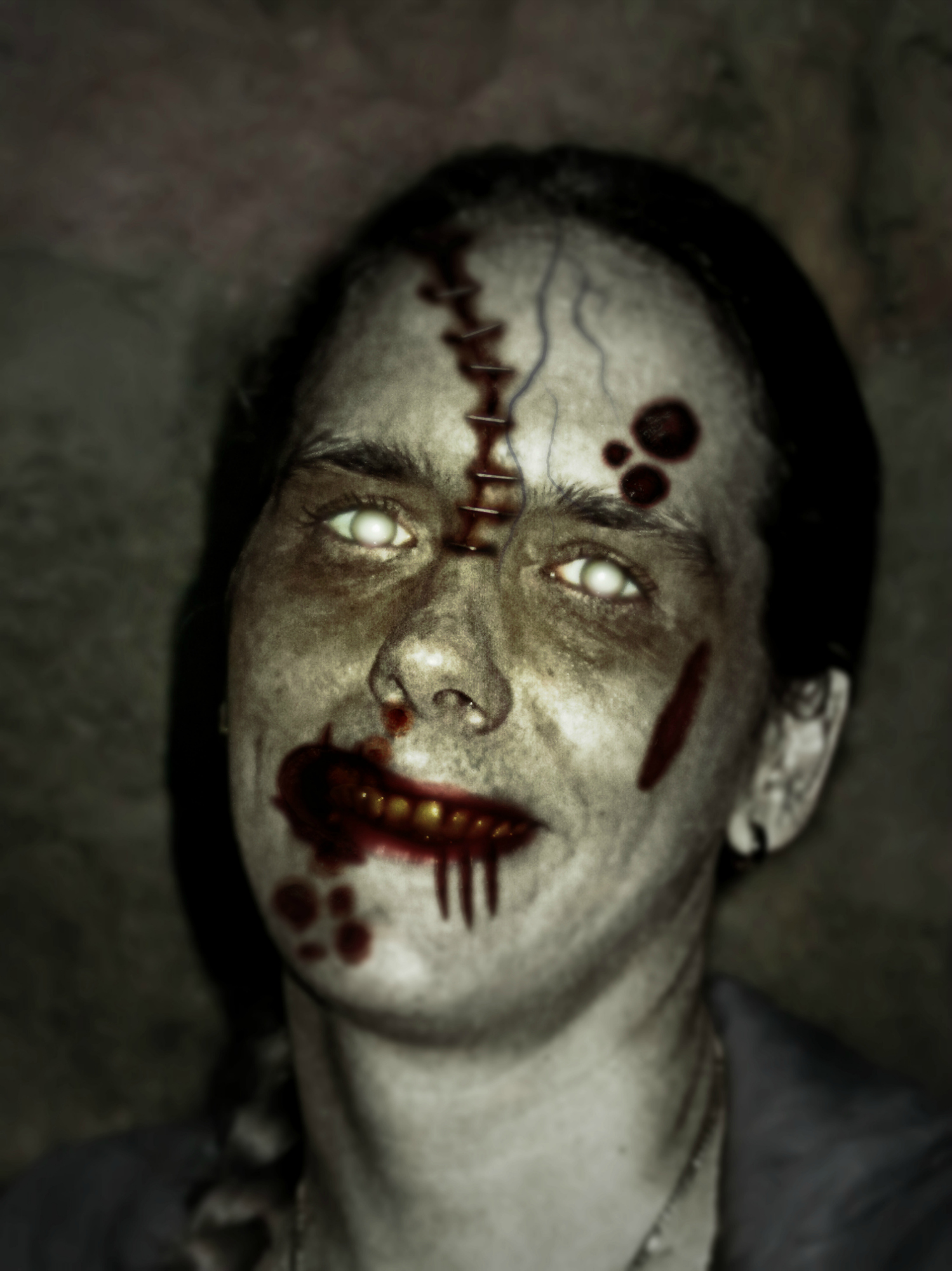 your photo turned into a Zombie, Demon or Vampire