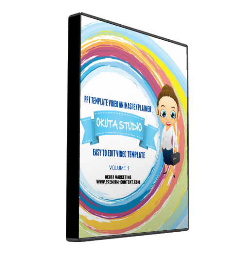 Okuta Studio Vol 1 - PPT Video Template Attractive Design