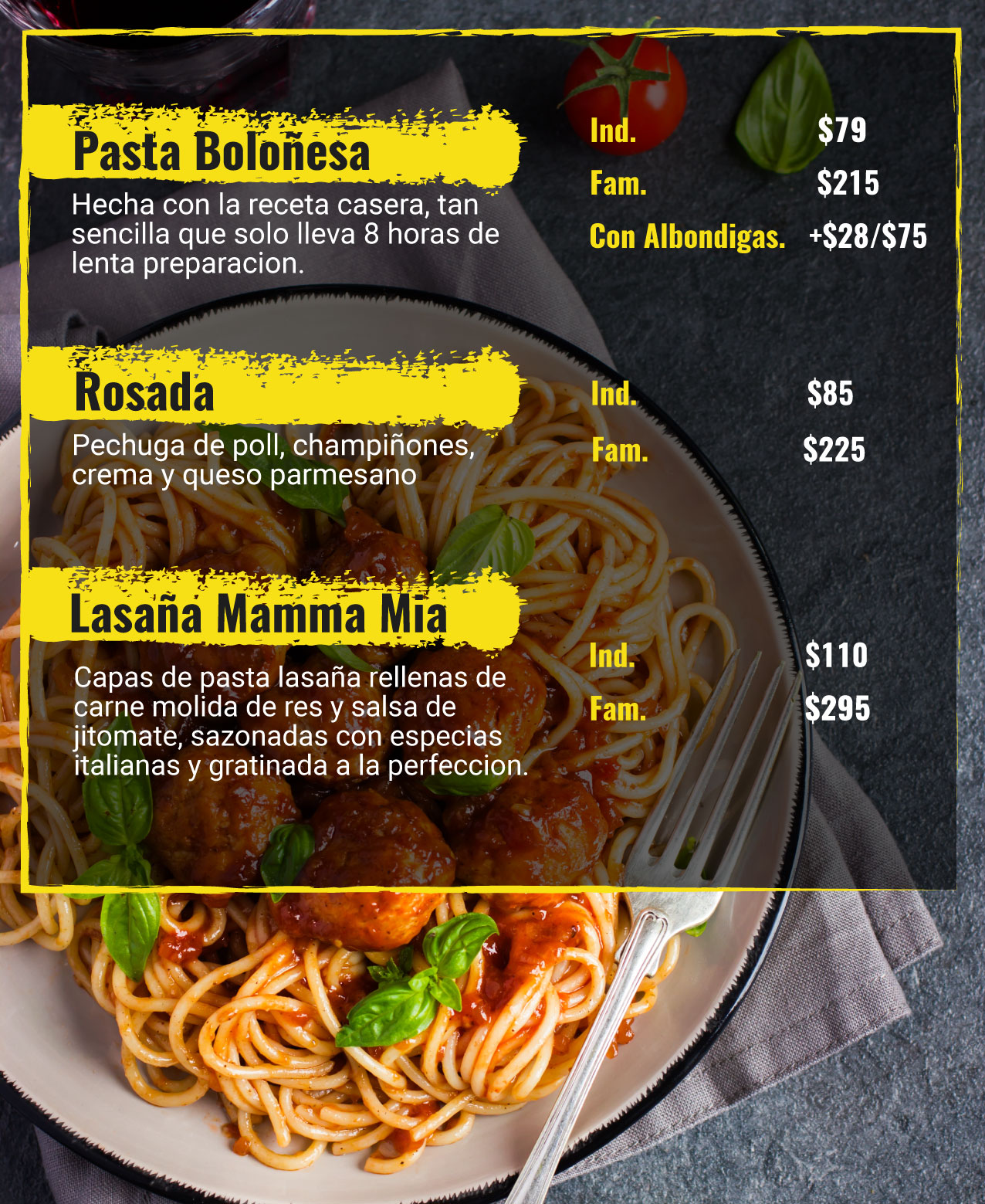 Design Restaurant Menu For You
