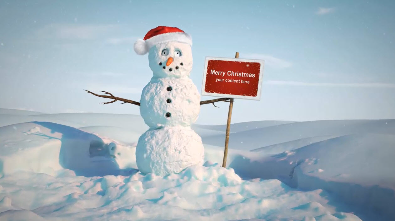 I Create 2 Christmas Video For Your Business