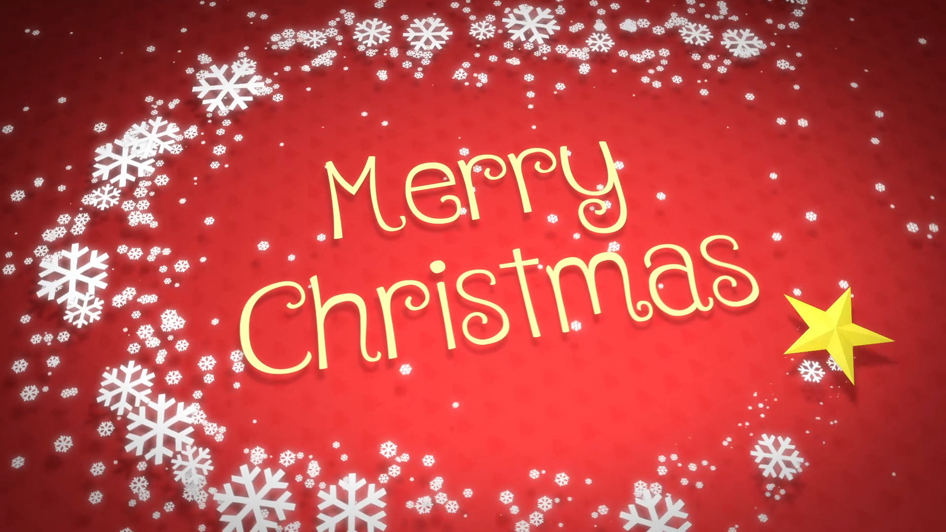 Create Most Beautiful Happy Holidays, Christmas, Happy New Year Video Greeting
