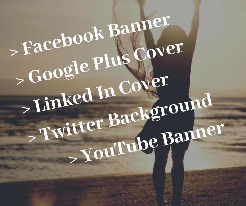 Social Media Cover Design Service for all social site...