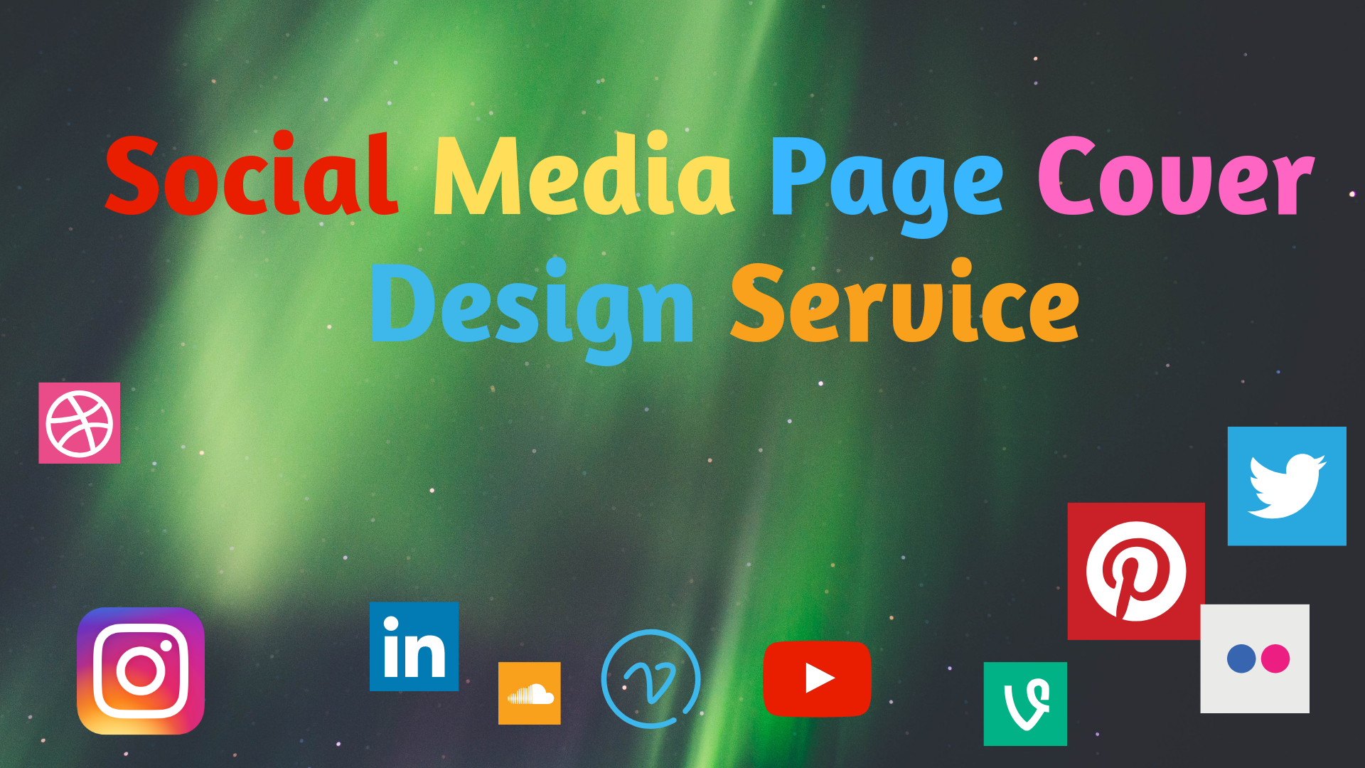 Social Media Cover Design Service for all social sites