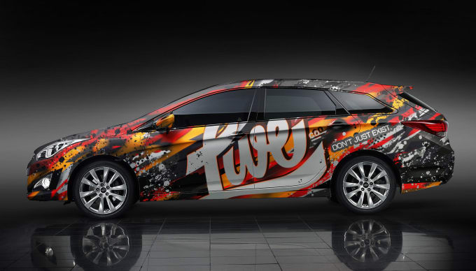 create you stunning Car wrap, Vehicle wrap, livery, decal design for business