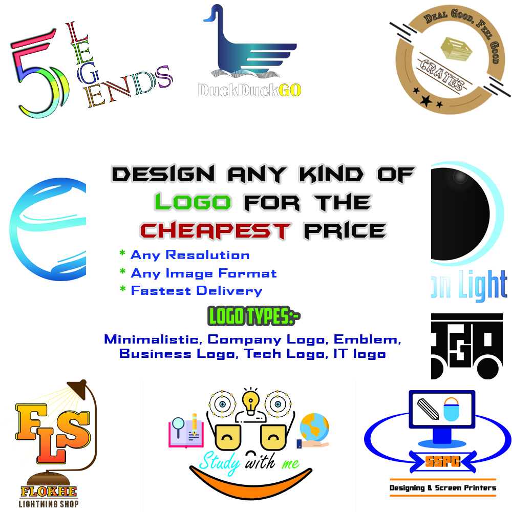 Design any kind of Logo for any brand for the cheapest price