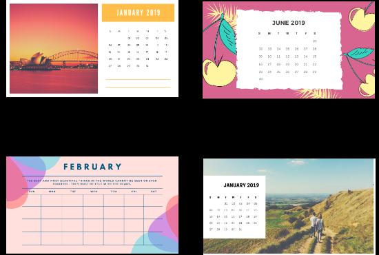 I'll create Calendar And Cards Design