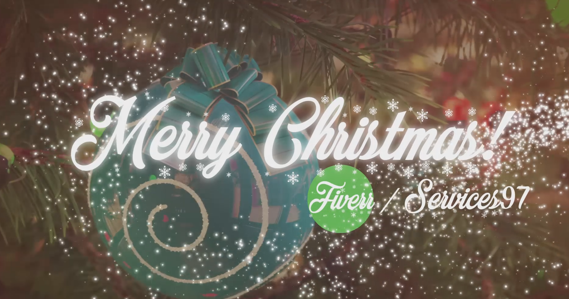 Create an AMAZING Christmas Video intro for you