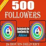 Start Instant 500 Followers