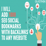 1000 Social Bookmarks with backlinks for your website and keywords