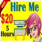 Virtual Assistant for 5 hours