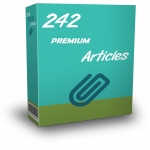 242 Premium Ready To Publish PLR Articles