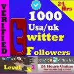 Cheapest 1000+ HQ USA-UK-Japan TwFollowers