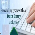 Do any kind of data entry work