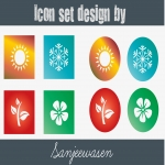 I'll provide appealing and modern Icon set