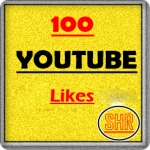 100 You tube Video L ikes Non Drop split link 1