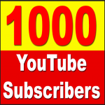 Will add 1000+ YOUTUBE Subscriber