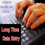 do long time DATA Entry Work with large data entry team