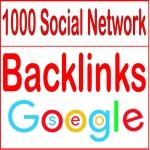 Create 1000 Social Network backlinks