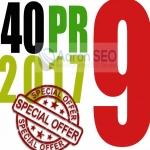 Best Sell-2017 - I will manually do 40 PR9 Safe SEO High Pr Backlinks 2018 Best Results
