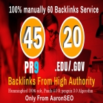 I will manually do 40 PR9 + 20 EDU/GOV Safe SEO High Pr Backlinks 2018 Best Results