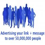 100,000 Social Media Traffic Funnel + 50 Million Group Post Advertising Service