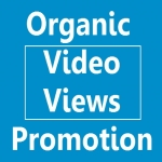 Organic Video Promotion up to 1000 views