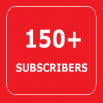 150+ YOUTUBE SUBSCRIBERS FAST GUARANTEED