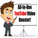 All-In-One YouTube Video Booster Package 1K Views for Likes Favs Subs Comments