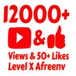 add 12,000 High Quality views