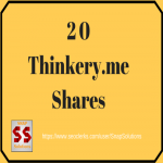 Bring You 20 THINKERY. ME Shares Manually For Your URL
