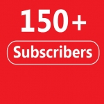 150 YouTube Subscribers to your Channel Never Drop
