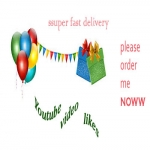 Super fast Delivery 550+ youtube video likes and 5 video custom comment