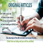 Get 3 original articles in less than 48 hours