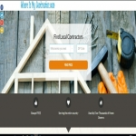Contractors website template