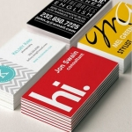 Design a professional business card