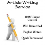600 Words ARTICLE On Any Topic by a professional