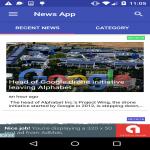 Complete News Brodcast app